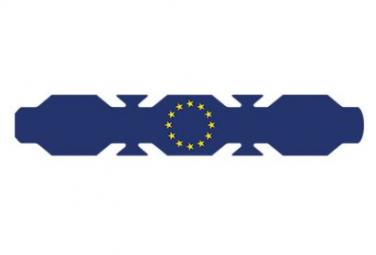 Image of Autocollant drapeau union europeenne