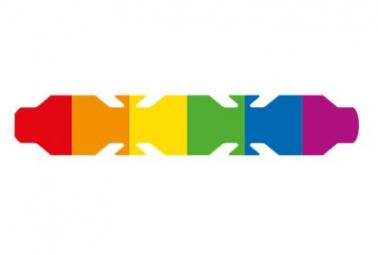 Image of Autocollant drapeau lgbt