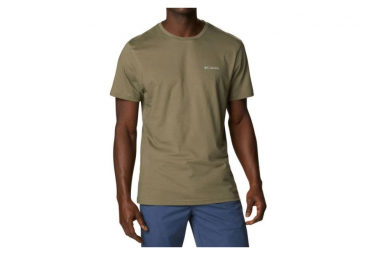 Camiseta Columbia Csc Basic Logo Verde Hombre M