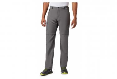 Pantalon Convertible Columbia Triple Canyon Gris Homme