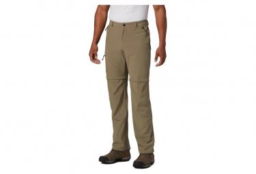 Pantalon Columbia Triple Canyon Convertible Verde Hombre 42