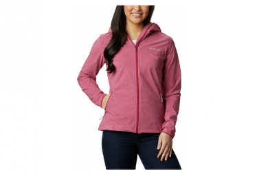 Chaqueta Softshell Rosa Columbia Heather Canyon Mujer Xs