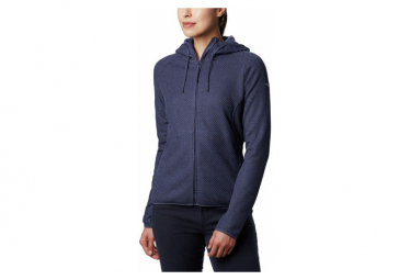 Polar Columbia Pacific Point Full Zip Hooded Mujer Azul Xs