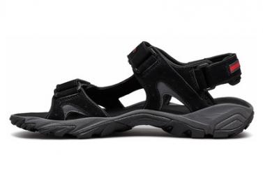 Sandales de randonnée Columbia Santiam 3 Strap Noir Homme