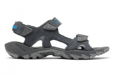 Sandales de randonnée Columbia Santiam 3 Strap Gris Homme