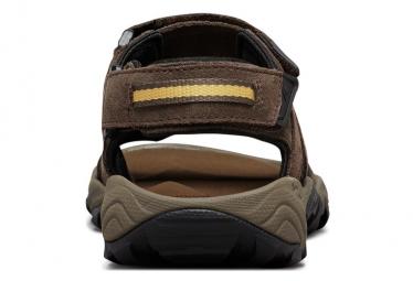 Sandales de randonnée Columbia Santiam 3 Strap Brun Homme
