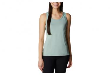 Camiseta sin mangas Columbia Peak To Point II verde mujer