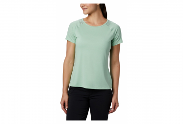 Camiseta Columbia Peak To Point Ii Manga Corta Verde Mujer L