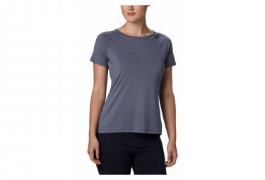Camiseta Columbia Peak To Point Ii Manga Corta Violeta Mujer Xs