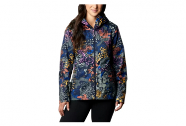 Chaqueta impermeable Columbia Inner Limits II para mujer azul