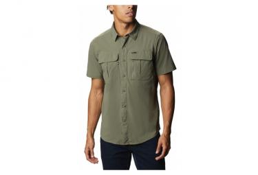 Camisa De Manga Corta Columbia Newton Ridge Verde Hombre L