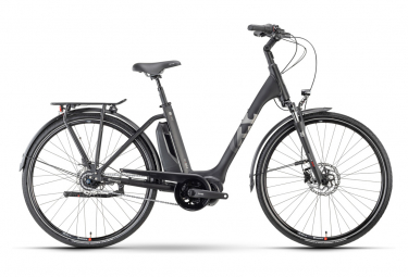 Vélo de Ville Électrique Husqvarna Eco City 4 FW Shimano Nexus 8V 500 Noir / Argent 2021