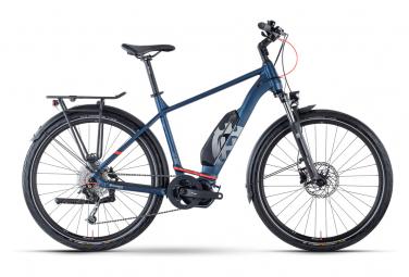 Bicicleta electrica de trekking husqvarna gran tourer 2 shimano altus   deore 9s 504 wh 27 5   azul 2021 m   165 175 cm