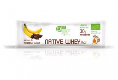 Image of Barre proteinee banane et chocolat au lait 30gr