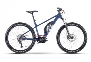 VTT Électrique Semi-Rigide Husqvarna Light Cross 3 Shimano Deore 10V 630 Wh 29'' Bleu 2021