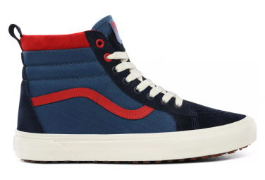 Chaussures Vans UA SK8-Hi MTE Bleu Navy/Rouge