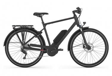 Vélo de Ville Électrique Gazelle Medeo T9 HMB Shimano Acera 9V 500 Noir 2020