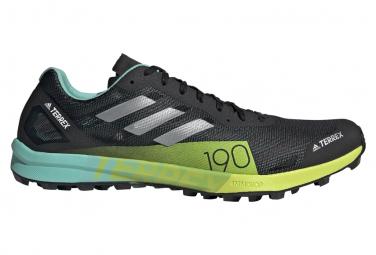 Zapatillas Adidas Terrex Speed Pro Trail Hombre Negras Amarillas 44