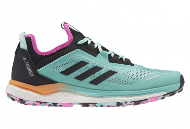 Zapatillas Adidas Terrex Agravic Flow Azul Multicolor Mujer 38 2 3