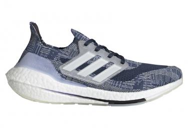 Adidas UltraBoost 21 PrimeBlue Blau Weiß Herren Laufschuhe