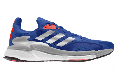 Zapatillas Running Adidas Solar Boost 3 Hombre Azules 42
