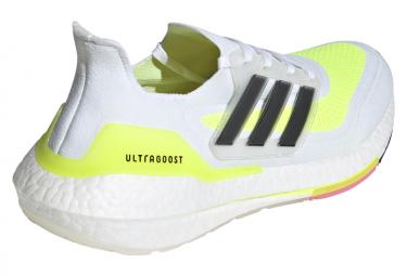Zapatillas adidas running UltraBoost 21 para Hombre Blanco / Amarillo