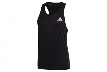 Adidas besitzt das Run Tank Top Black Mens