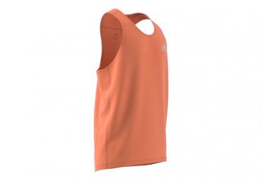 Adidas Own The Run Camiseta Naranja Para Hombre S