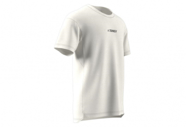 Maillot manches courtes adidas Terrex Agravic Blanc Homme