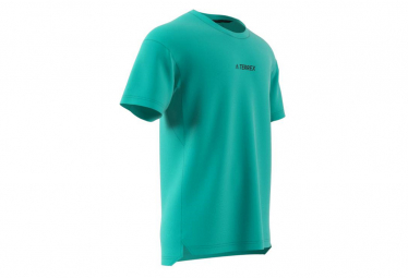 Adidas Terrex Agravic Camiseta De Manga Corta Verde Hombre L