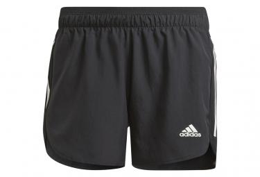 Pantalones Cortos Adidas Run It Negro Mujer Xs