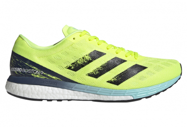 Chaussures de Running adidas running adizero Boston 9 Jaune / Noir