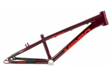 Cuadro Meybo Holeshot Bmx Race Burdeos Rojo   Negro 2021 Pro Xl