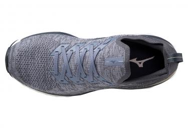 Chaussures de Running Mizuno Wave Sky Neo Gris