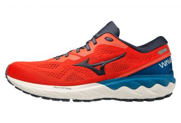 Zapatillas Running Mizuno Wave Skyrise 2 Rojo Azul Hombre 45
