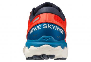 Zapatillas Mizuno Wave Skyrise 2 para Hombre Rojo / Azul