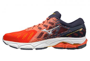 Chaussures de Running Mizuno Wave Ultima 12 Rouge / Bleu