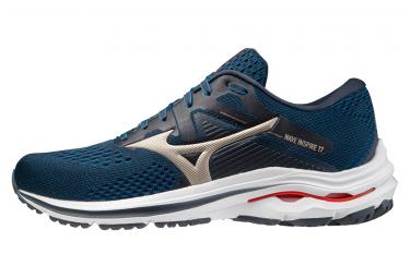 Zapatillas Running Mizuno Wave Inspire 17 Azul Rojo Hombre 42 1 2