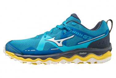 Zapatillas Mizuno Wave Mujin 7 para Hombre Azul / Amarillo