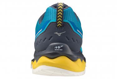 Chaussures de Running Mizuno Wave Mujin 7 Bleu / Jaune
