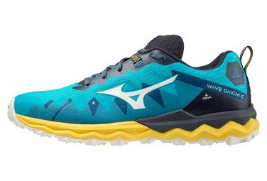 Chaussures de Running Mizuno Wave Daichi 6 Bleu / Jaune