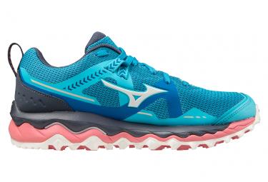 Zapatillas Mizuno Wave Mujin 7 Azul Rosa Mujer 40