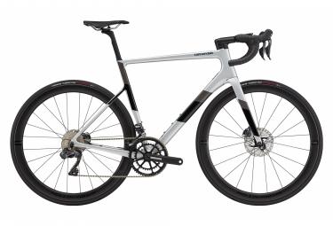 Cannondale Supersix Evo Carbon Disc Ultegra Di2 Bicicleta De Carretera Shimano Ultegra Di2 11s 700 Mm Mercury Grey 54 Cm   170 180 Cm