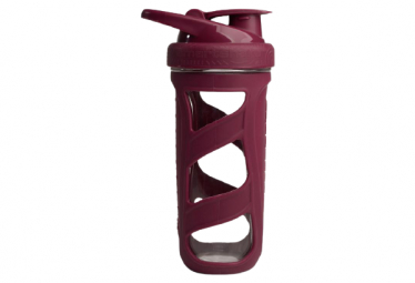 Shaker Smartshake Reforce Glass 700ml Rouge
