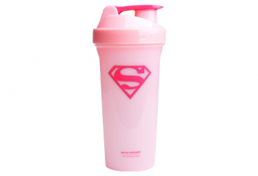 Shaker Smartshake Lite 800ml Supergirl