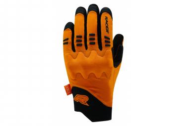 Gants Longs Racer Gloves Velo Mixte D30 Rock 3 Noir / Orange
