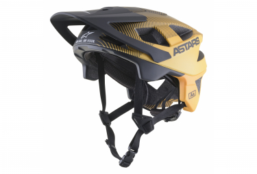 Alpinestars VECTOR PRO A2 EBONY Helm / Schwarz