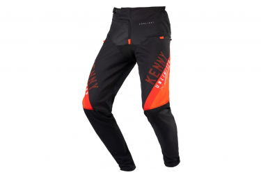 Pantalon Kenny Prolight Negro   Naranja Hombre 28