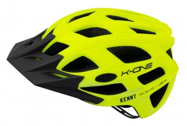Casco Kenny K One Amarillo Neon 2021 S M  55 58 Cm