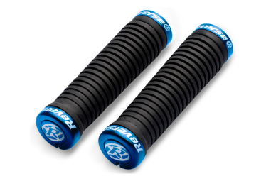 Reverse Grips Taper 34 to 30mm Black / Blue